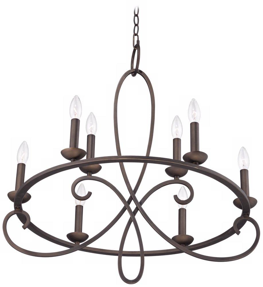 Foxvale 26 12 wide dark bronze steel chandelier amazon arubaitofo Gallery