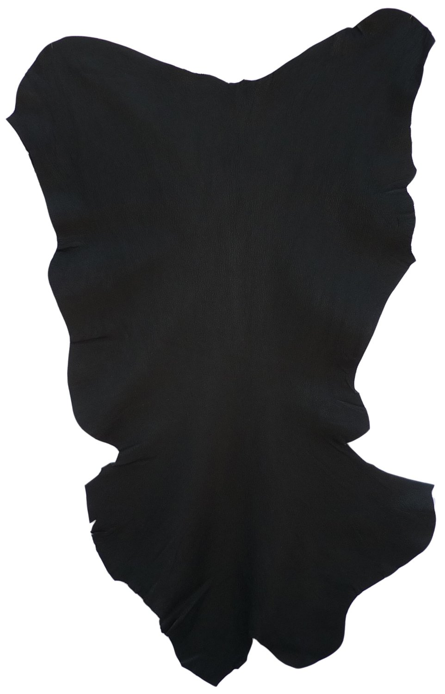 Premium Goatskin - Black - 5 Square Feet by Bookbinders Workshop (Image #1)