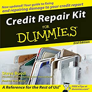 Credit Repair Kit for Dummies Audiobook