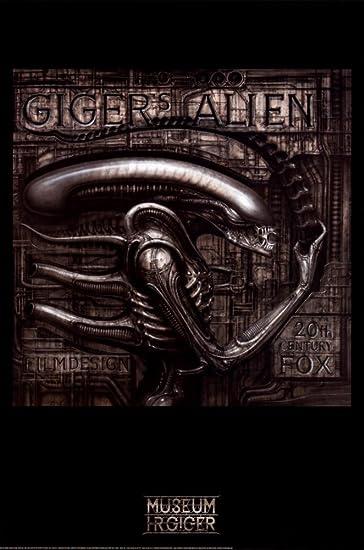 Gigeru0027s Alien Poster By H. R. Giger 24 X 36in Part 98