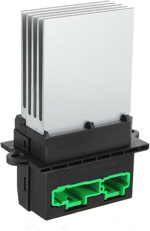 Cikuso Resistor de Ventilador de Motor de Calentador para Renault Megane Modus Scenic Twingo: Amazon.es: Coche y moto