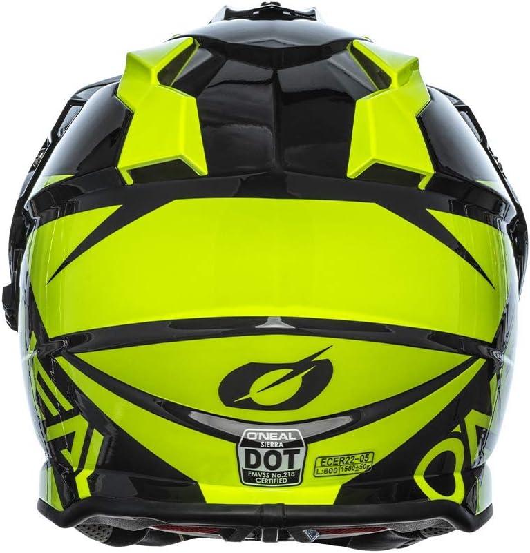 Neon Yellow//Black ONeal Sierra R Adult Helmet XL