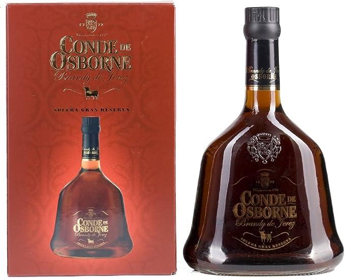 Brandy Solera Gran Reserva DO Jerez Conde de Osborne - 1 botella de 70 cl