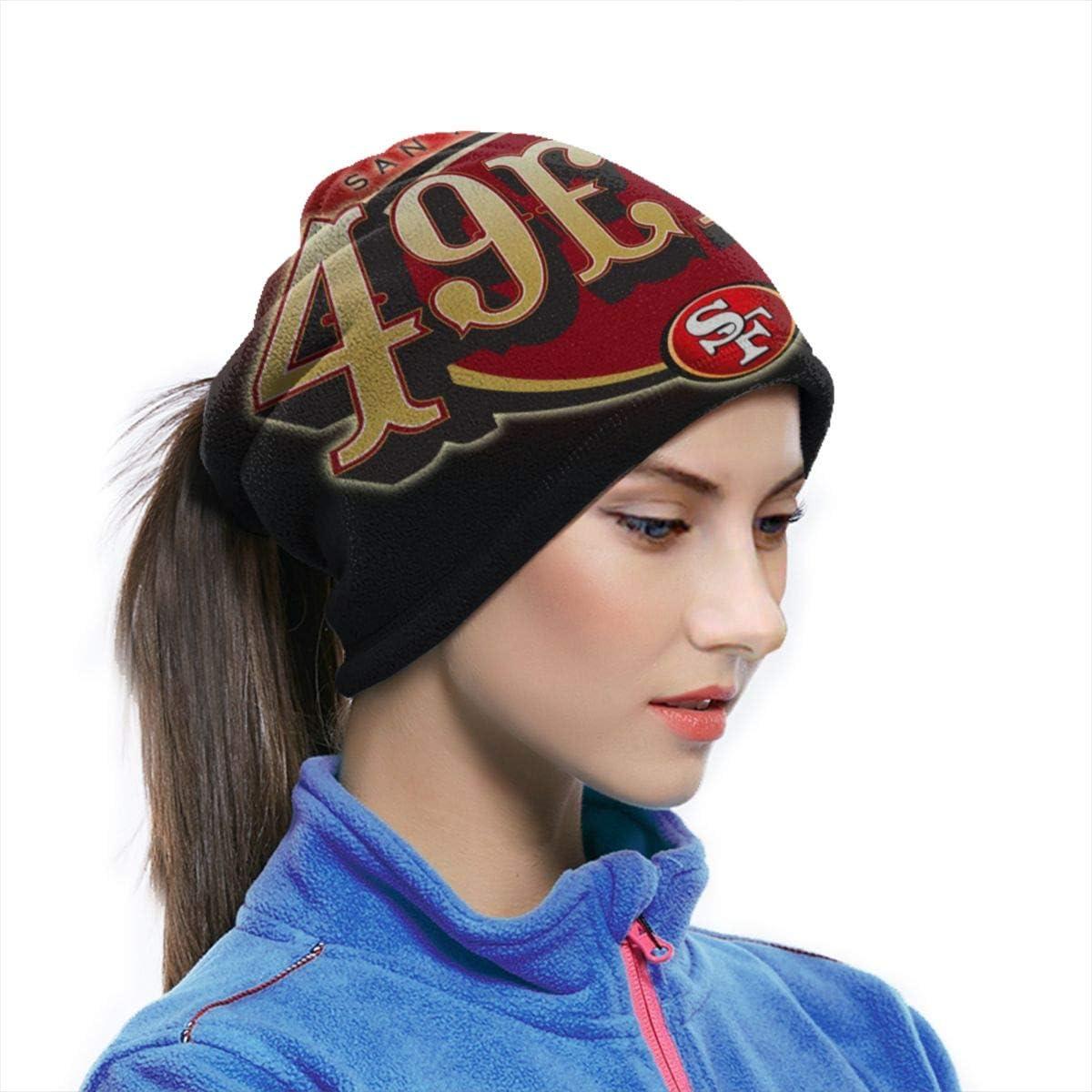 Die Hard 49er Fan Fleece Neck Warmer Winter Neck Warmer Windproof Face Mask For Men Women