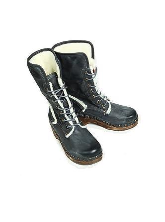 nobrand Mujer Zapatos Botas Botines Boots - Piel - Gris gris 41: Amazon.es: Ropa y accesorios