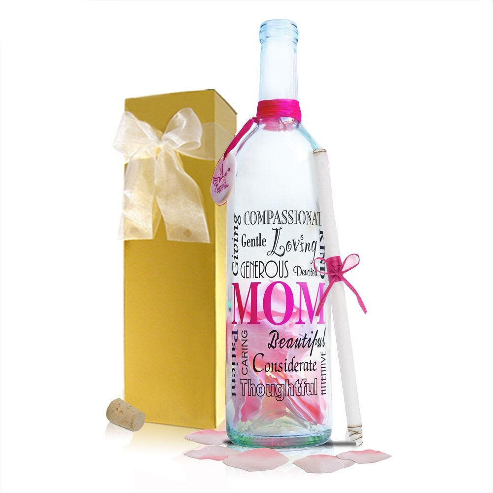 Message In A Bottle  MOM Personalized Gift Mother's Day and Birthdays