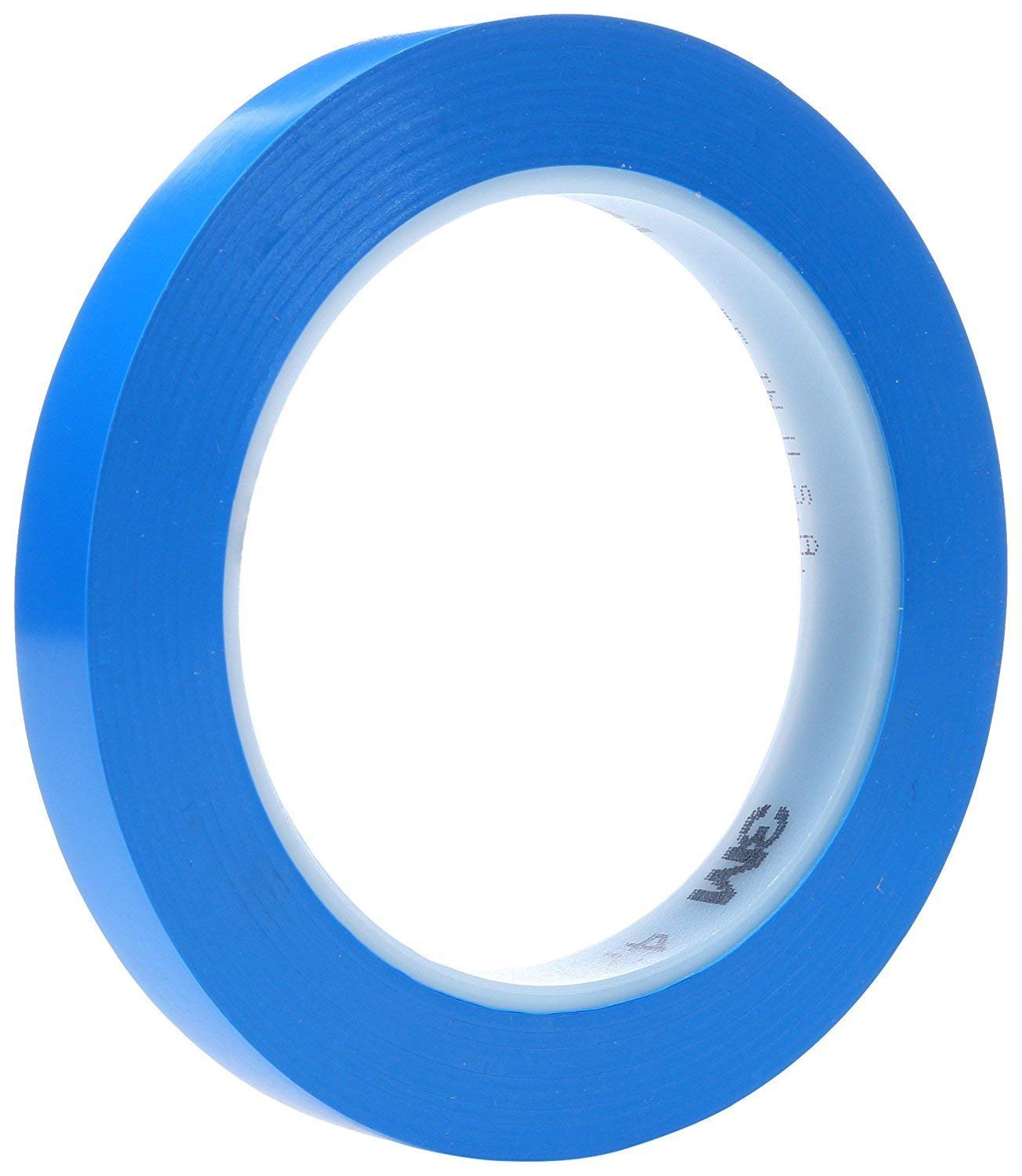 1//2 in Width x 36 yd Length Blue Pack of 1 3M 471 Marking Tape 5.2 mil Thick,