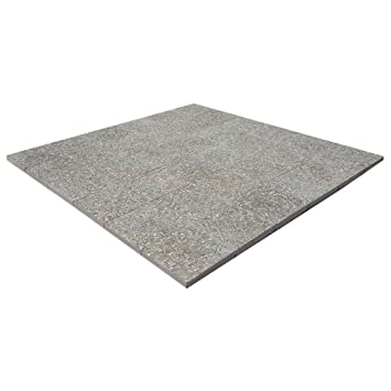 Gentil Classic Stone 6 Ft. X 6 Ft. Square Exposed Aggregate Step Stone Patio
