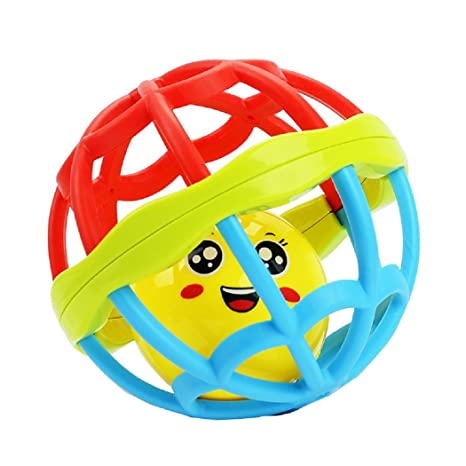 Axibo Baby Toys Development Lovely Face - Pelota de goma suave ...
