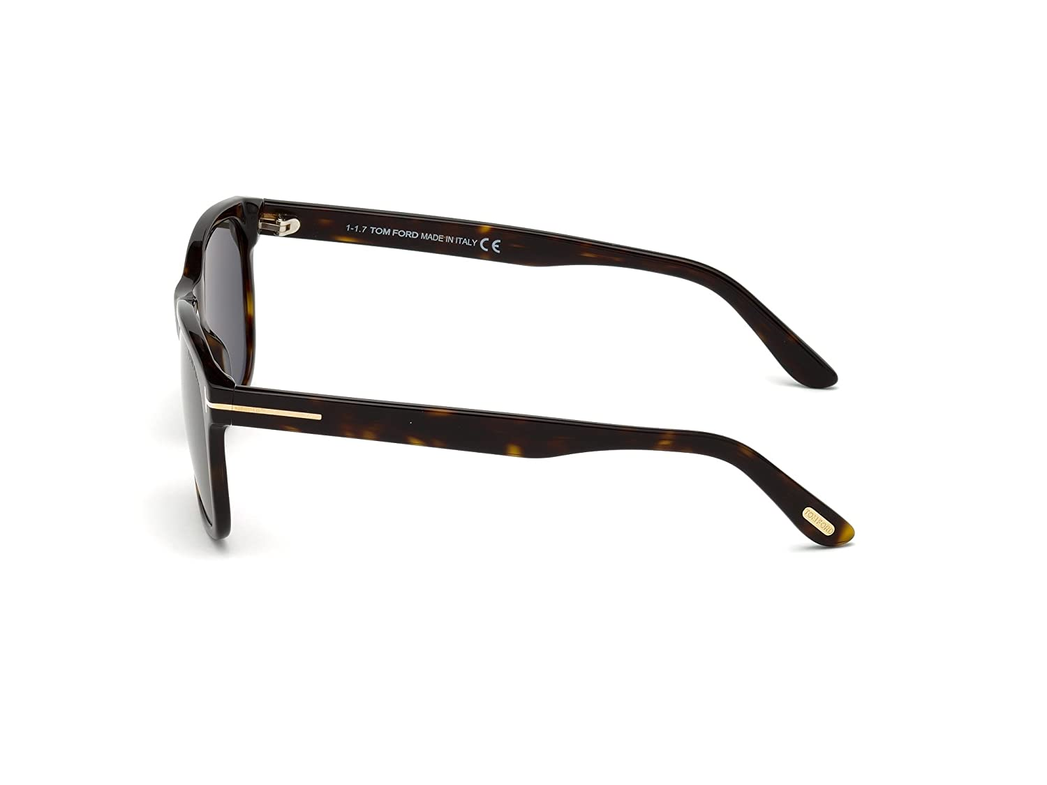 4a164a146ed7 Sunglasses Tom Ford FT 0595 Eric- 02 52N dark havana   green at Amazon Men s  Clothing store