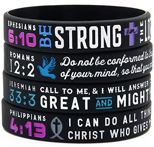 Power-of-Faith-Bible-Verse-Wristbands-Christian-Religious-Jewelry-Gifts