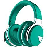 amazon com cowin se7 active noise cancelling headphones bluetooth headphones wireless headphones over ear with microphone aptx comfortable protein earpads 30 hours playtime for travel work teal home audio theater cowin se7 active noise cancelling
