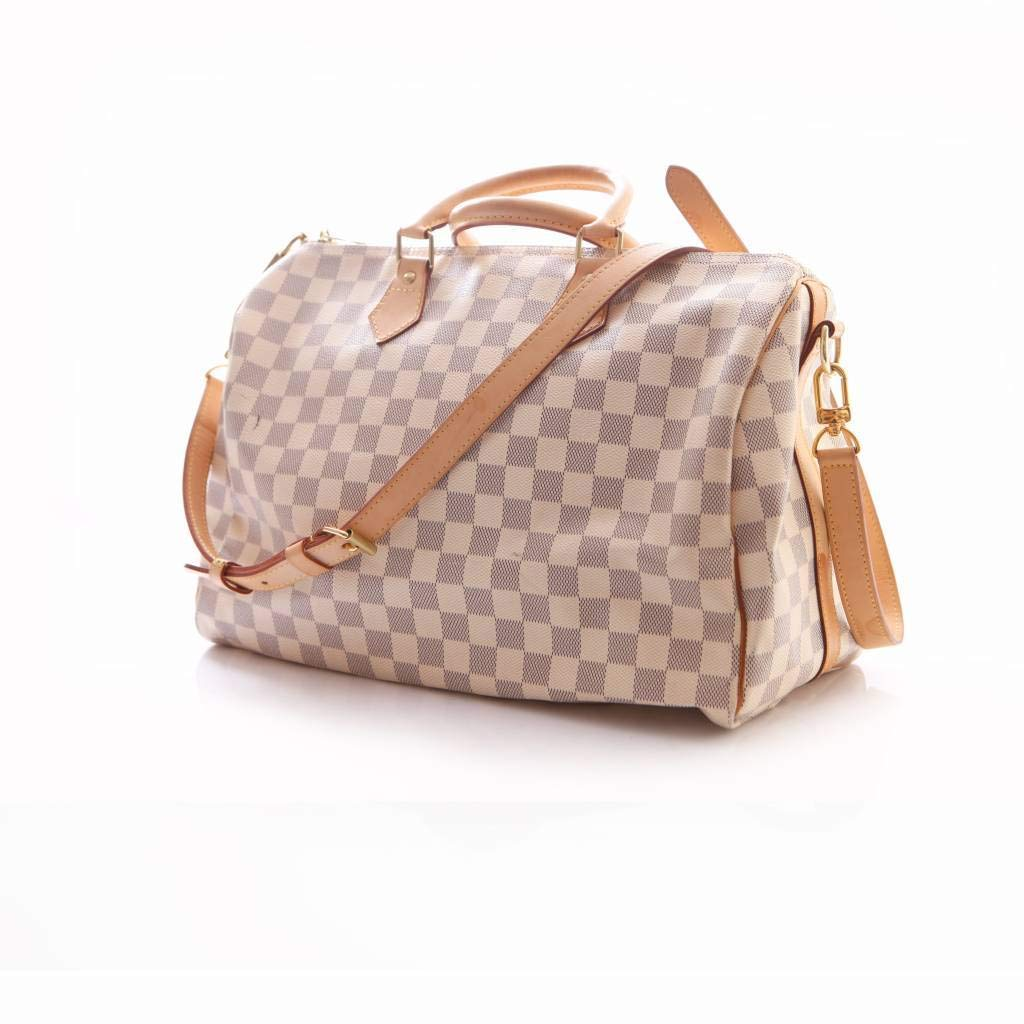 SAVITSKYI Speedy Timeless Design Duffle Bag Azur Color Perfect Size 30 cm Made of Canvas For Man Woman Boy Girl Perfect For Travel Sport and Daily Use