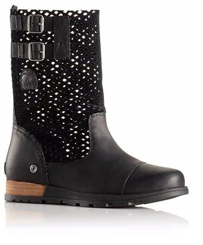 3e54e0f1c25 SOREL Major Pull On Boot - Womens (Black Wet Sand
