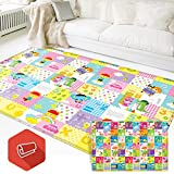 Baby & Kids Safety Play Mat, Eutuxia [Large: 77