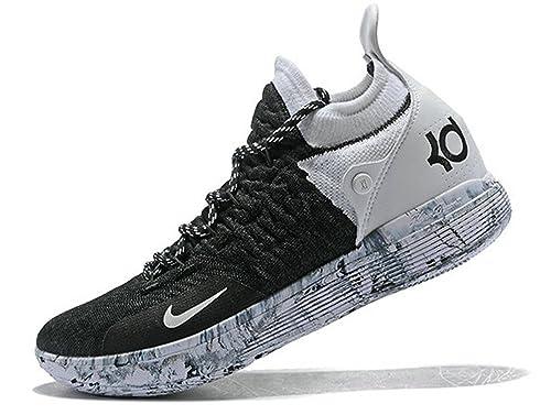 cheaper a2023 f2e35 Kevin Durant KD 11 Zoom Oreo Black White Zapatos de Baloncesto para Hombre   Amazon.es  Zapatos y complementos