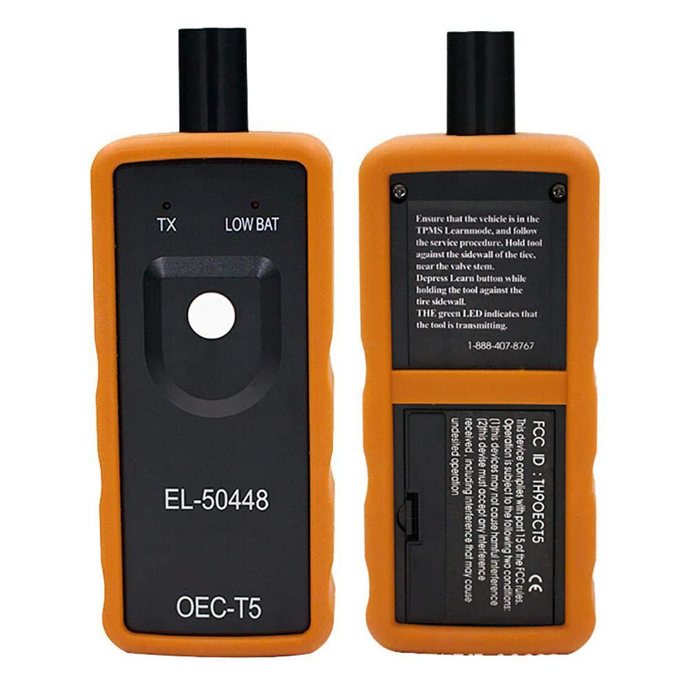 Xploit Monitor sensore di attivazione Universale Accessori di rilevamento della Pressione dei Pneumatici Reset Auto Professionale Portatile EL-50448 Facile Applicare Reset Strumento TPMS