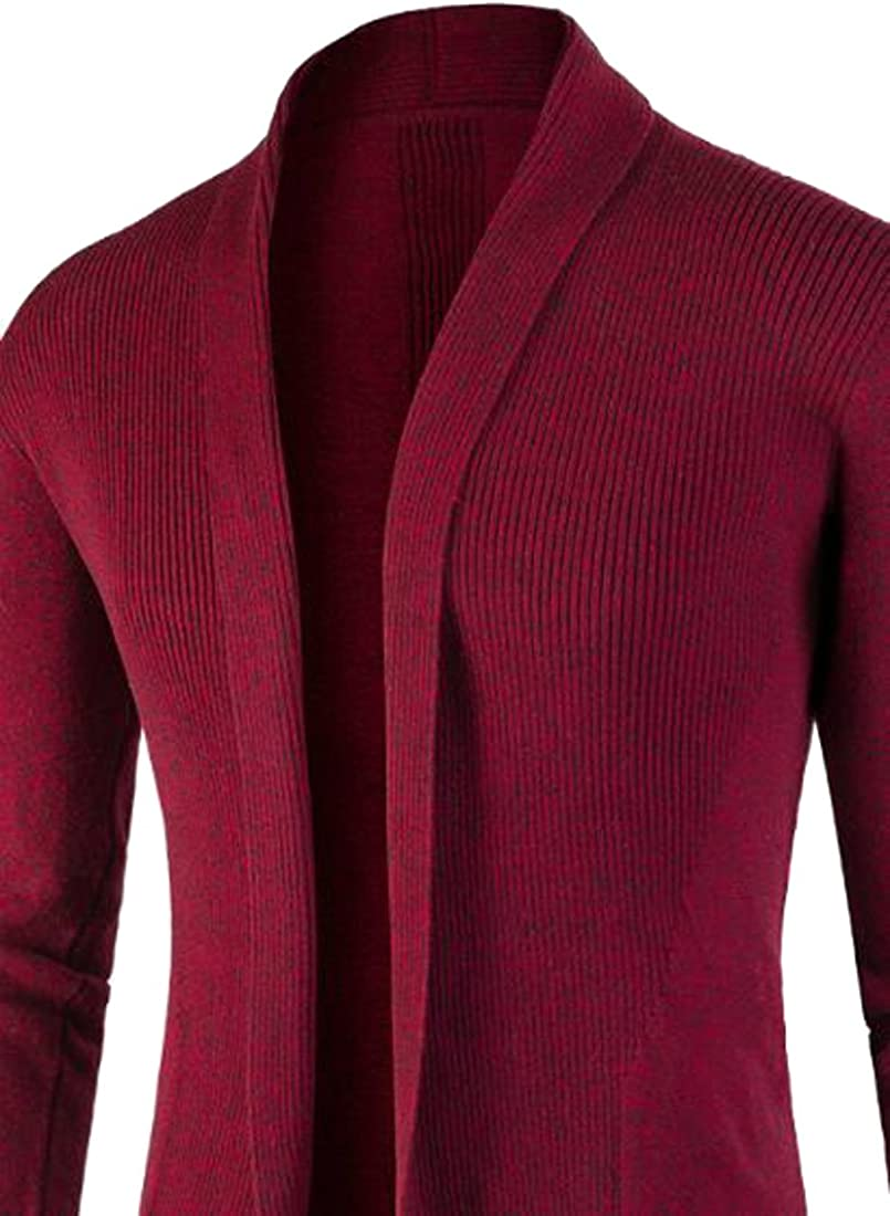 Happiness Entrance -  Cardigan  - Uomo Rosso
