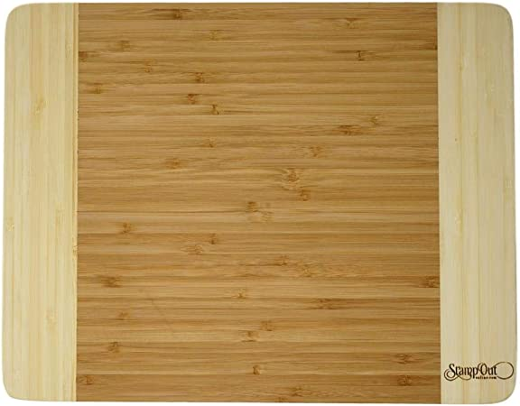 Bamboo Cutting Board 11 X 14 X 1 Inches Kitchen Dining