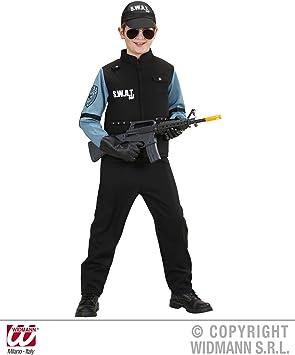 Déguisement Pour Enfant S W A T Police Uniforme Des Unités Spéciales De La Cia Du Fbi Amazon Fr Jeux Et Jouets