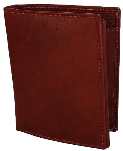 f1acea7bc59d Alex Flittner Designs Portefeuille Homme cuir véritable forme Portrait en  marron  Amazon.fr  Chaussures et Sacs