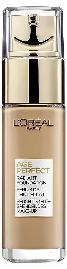 LOréal Paris Nutrilift Gold 310 Rose Honey Frasco dispensador Líquido base de maquillaje -