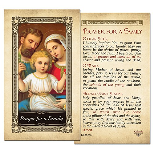 A Family Laminated Holy Card - Pack of 25 ()