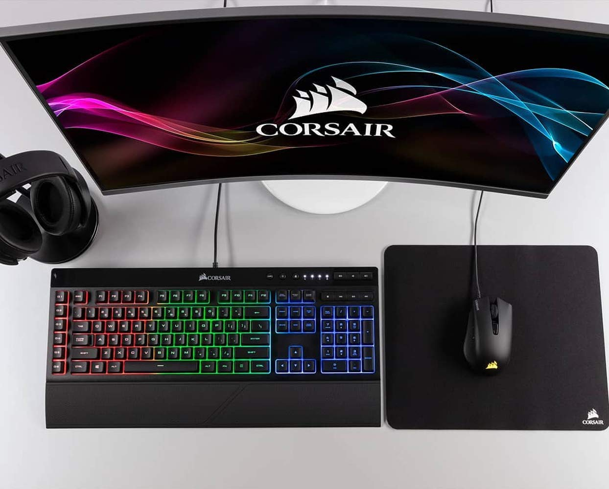 Corsair harpoon rgb mouse ottico da gioco rgb retroilluminato fps