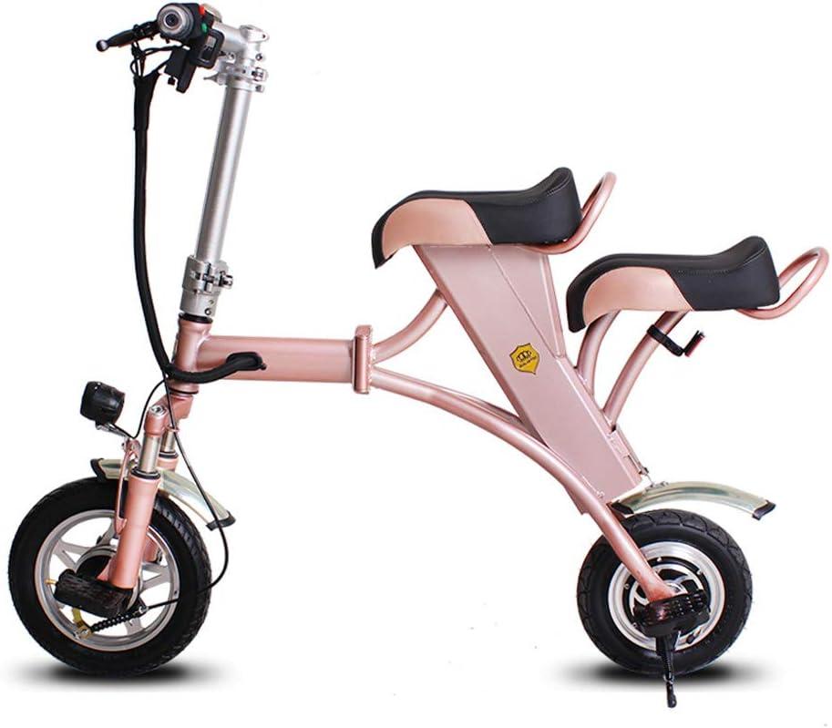 SSCJ Eléctrico Plegable Bicicleta Mini Adulto Scooter eléctrico ...