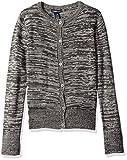 Limited Too Little Girls' Cardigan Sweater, Dark Heather Grey, Small 4