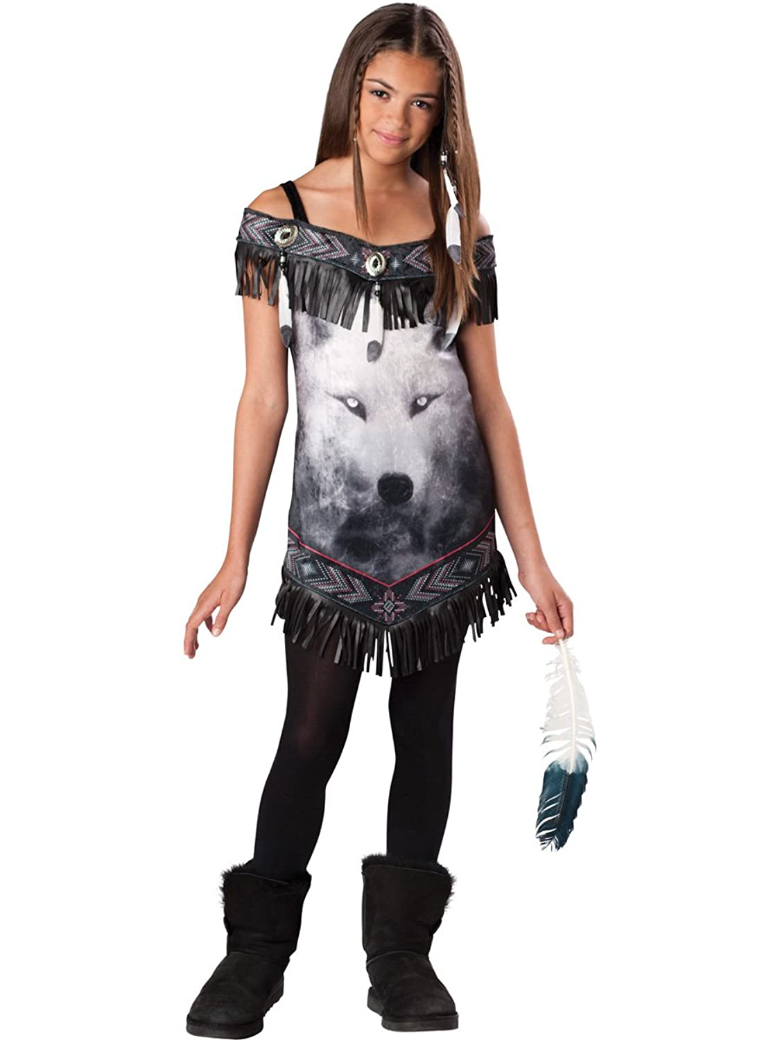 Tribal Spirit Tween Girls Costume