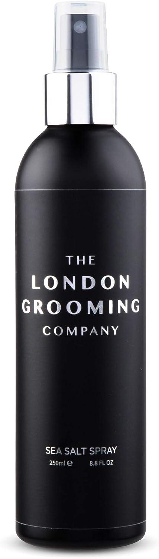 The London Grooming Company Spray Texturizante para Hombres, Producto de Cabello Basado en Agua para Textura y Volumen - 250 ml / 8,8 fl oz - Aroma de Madera de Laúd Árabe