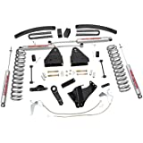 Rough Country - 597.20 - 6-inch Suspension Lift Kit w/ Premium N2.0 Shocks for Ford: 08-10 F250 Super Duty 4WD, 08-10 F350 Super Duty 4WD