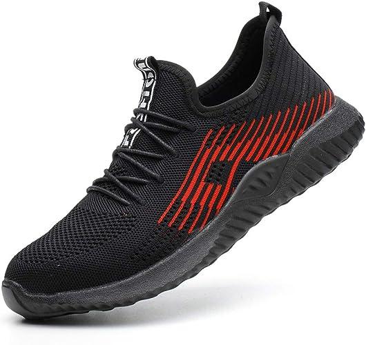 MandyQ Steel Toe Sneakers for Men