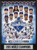 MLB Kansas City Royals 2015 World Champions Plaque, Blue, 9 x 12""