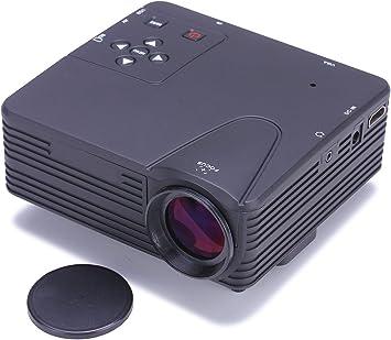 Generic H80 Mini portátil LCD LED cine en casa proyector de juego ...