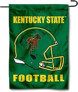 College Flags & Banners Co. Kentucky State University Football Helmet Garden Flag