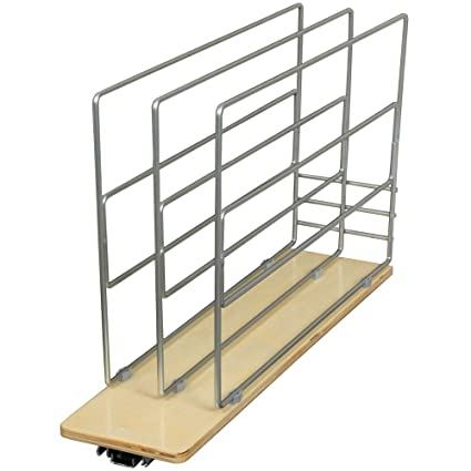 Amazon.com: Knape & Vogt TDRO-FNW-6 in. Tray Divider Roll Out ...