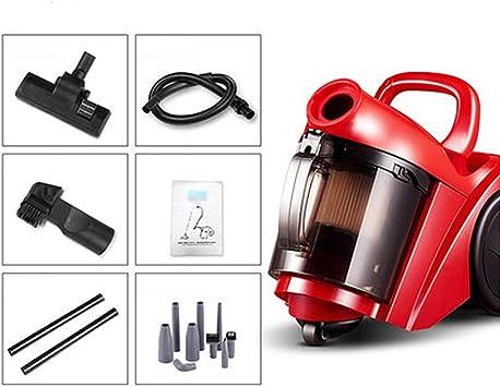 LSX - aspirador sin cable Aspirador, mano pequeño 1000W hogar grande de aspiración de múltiples funciones aspiradora rojo horizontal, 2 combinaciones disponibles Poderoso (Color : B): Amazon.es: Bricolaje y herramientas