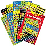 Trend T46919 Sticker Assortment Pack, Assorted, 2500 per Pack (TEPT46919)
