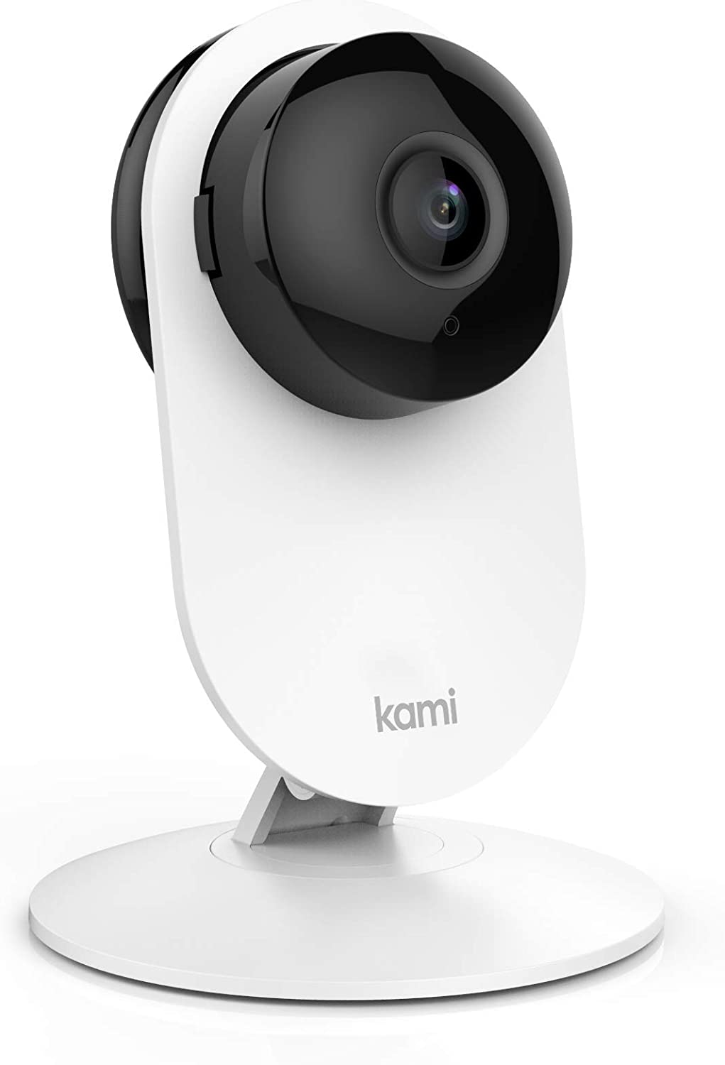 Security Home Camera, Kami by YI 1080p WiFi Smart Wireless Indoor Nanny IP Cam with Night Vision, 2-Way Audio, Motion & Face Detection, Phone App, Pet Cat Dog Cam - Works with Alexa and Google