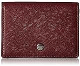 Iola Card Case Credit Card Holder, Wine, One Size