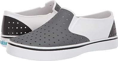 e4ef1cbe0db0 Native Shoes Unisex Miles Shell White Dublin Grey Jiffy Black Block 6 Women