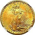 1920 P $20 Saint Gaudens Gold Twenty Dollar MS65 NGC+