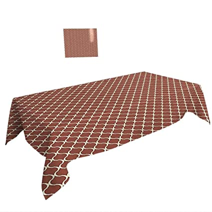 bd942ba69ea94 Amazon.com  Rectangular Table Cloth W60 x L102 INCH