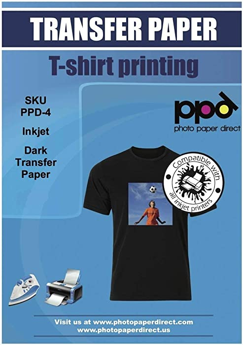 The Best Iron On Transfer Paper For T Shirts
