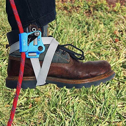 - NewDoar Foot Ascender Climbing Rope Grab Arborist Tree Climbing Equipment Climbing Device