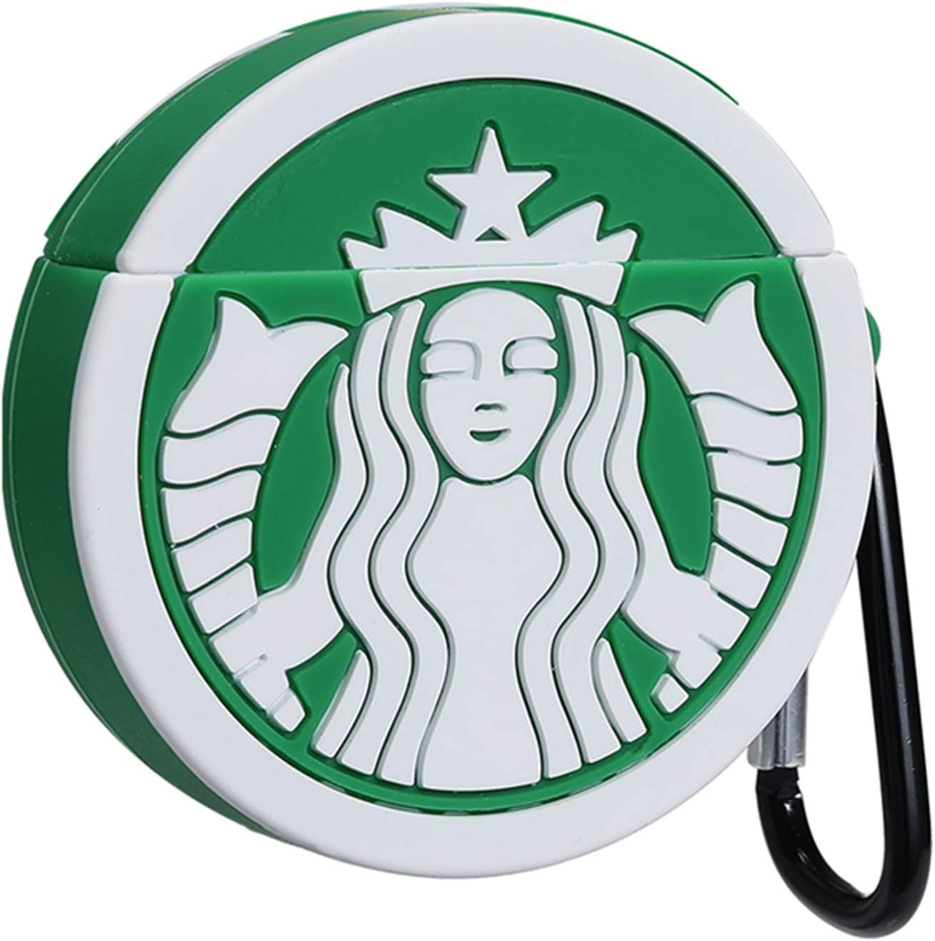 Star Coffee Joyleop Compatible with Airpods 1// 2 Case Cover,3D Cute Cartoon Luxury Funny Fun Cool Kawaii Stylish Fashion,Silicone Airpod Character Skin Keychain,for Girls Boys Teens Kids Air pods 1/& 2