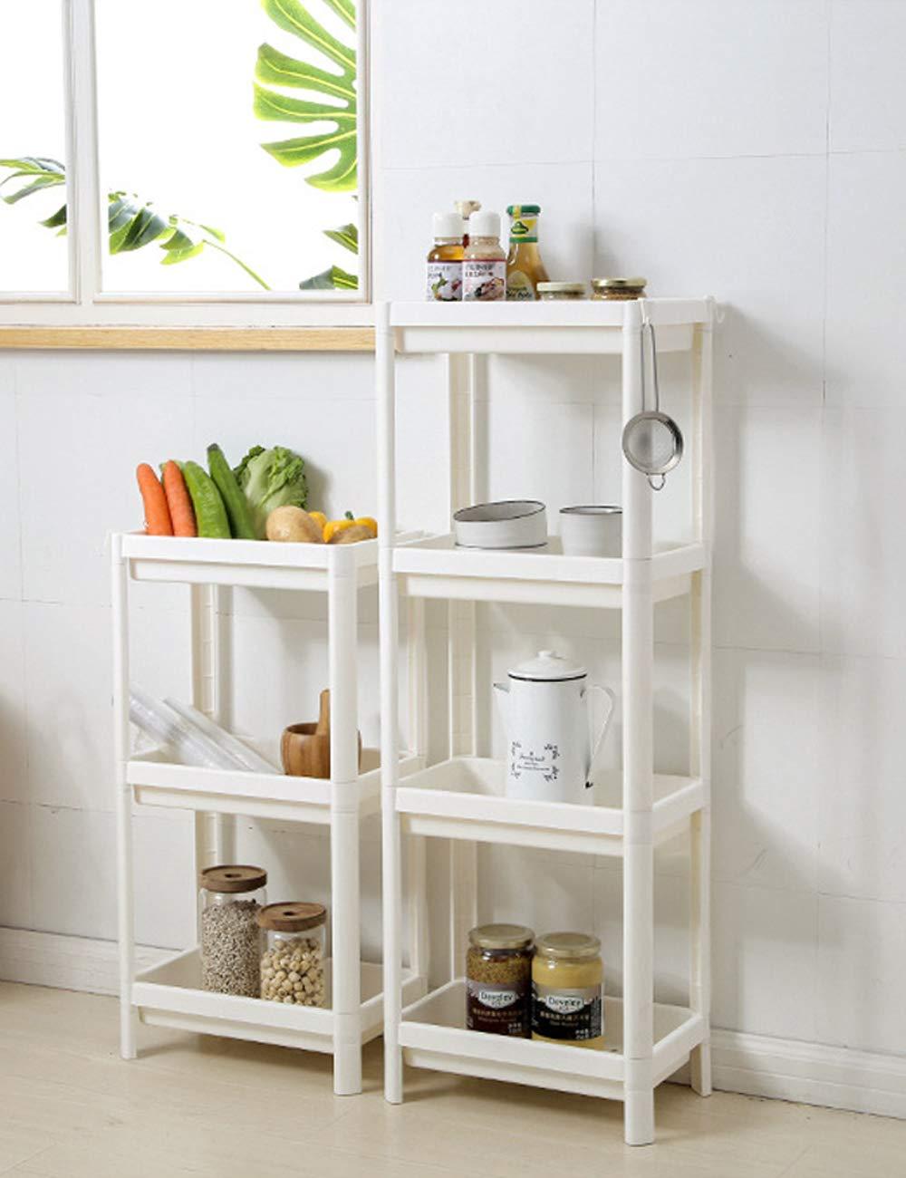 Amazon.com: BESBOMIG Storage Shelf Unit with 3/4 Stages ...