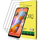 QHOHQ Screen Protector for Samsung Galaxy A11/M11, [3 Pack] Tempered Glass Film, 9H Hardness - No Bubbles - Anti…